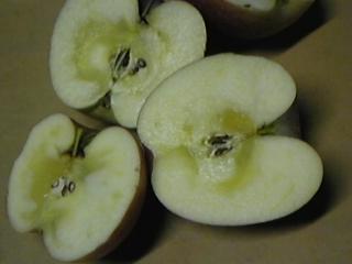 りんご ふじ  蜜入りふじ